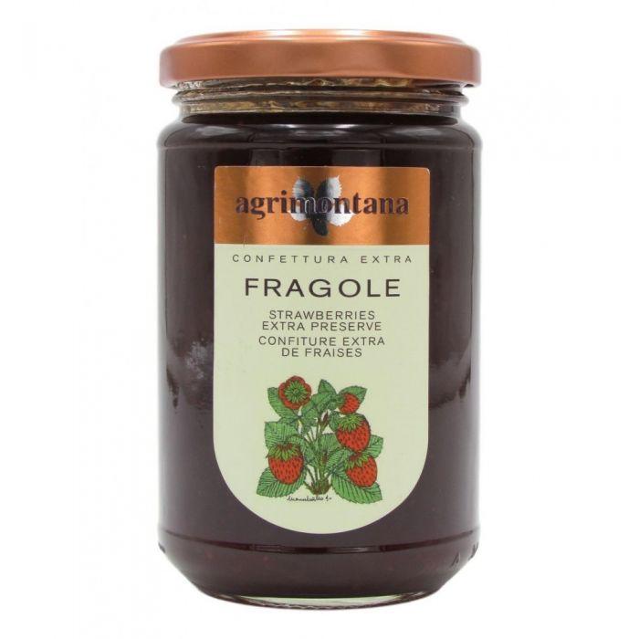 Confettura extra fragole 350 gr Agrimontana senza pectina