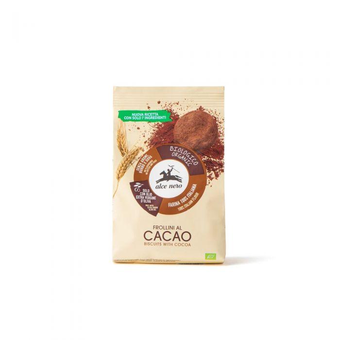Frollini al cacao biologici Alce Nero - 350gr