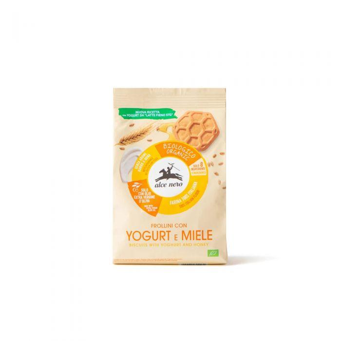 Frollini con Yogurt e Miele Alce Nero - 350gr