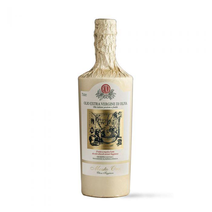 olio-extra-vergine-di-oliva-calvi-mosto-oro-olive-taggiasche-75cl