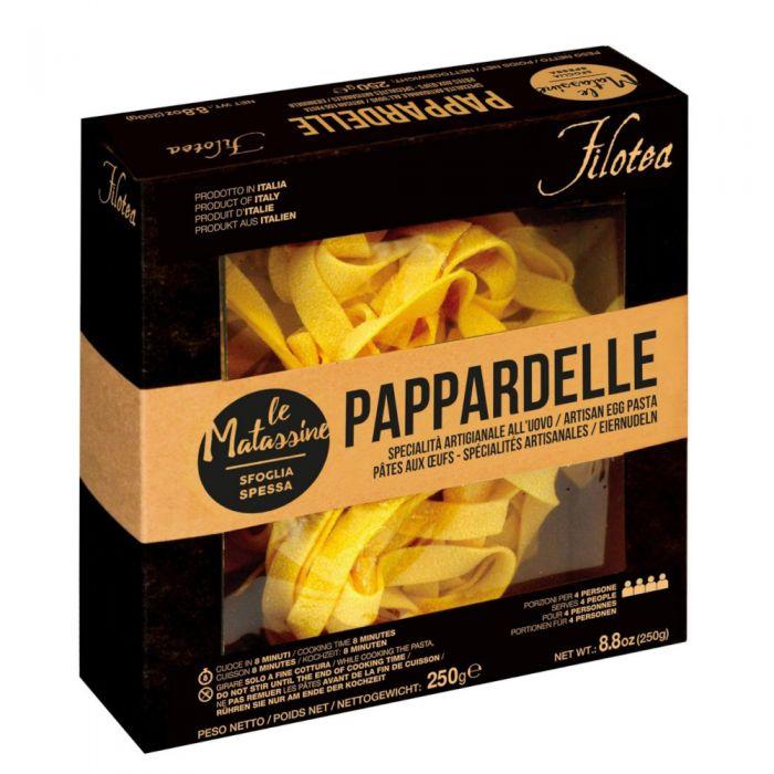 Pappardelle Filotea Pasta all'Uovo Linea Matassine 6/8 min 250g