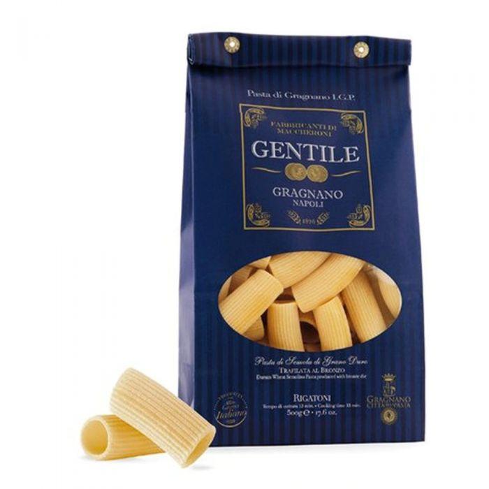 Rigatoni Gentile Pasta Gragnano 13min - 500gr