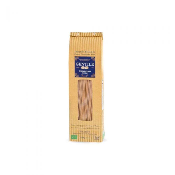 Spaghetti Integrali Bio Gentile Pasta Gragnano 8min - 500gr